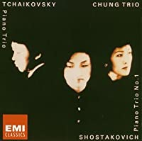 Tchaikovsky,Shostakovich:Piano Concertos by Chung Trio (2004-12-08)
