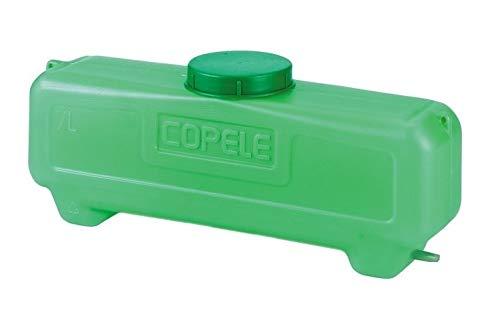COPELE Deposito Rectangular con Filtro, Verde, 46x11x18 cm, 30729