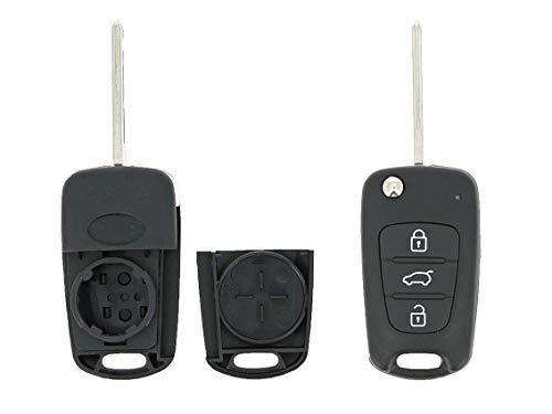 KLEMAX Coque de clé Adaptable Kia 3 Boutons référence: KIA307