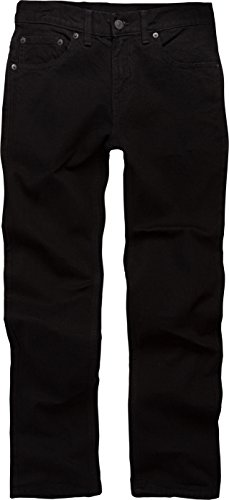 Levi's Boys' 511 Slim Fit Jeans, Black Stretch, 12 Husky