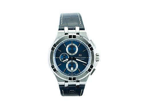 Maurice Lacroix Reloj analógico para Hombres de AI1018-SS001-430-1