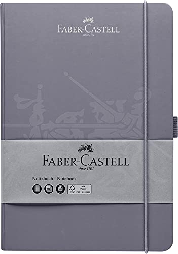 Faber-Castell 27825 - Cuaderno (DIN A5, 145 x 210 mm, papel de 100 g/m², mezcla...