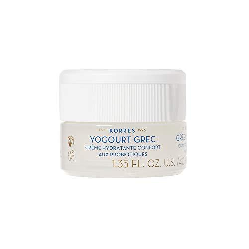 Korres GREEK YOGHURT Beruhigende probiotische Feuchtigkeitscreme, 1er Pack (1 x 40 ml)