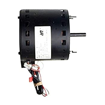 Ventamatic XE425 Barrel Fan Motor and 2  Pulley  For MaxxAir BF42BD BF36BD and BF48BDC5 Series  2-Speed Belt Drive PSC Motor  Up To 1730 RPM  Single Phase  2  Pulley Included  Black