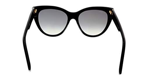 Fashion Shopping Gucci Sunglasses GG 0460 S- 001 Black/Grey Gold