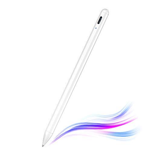 Stylus Pen für iPad, Kimwood Pencil iPad mit Palm Rejection Hochpräziser iPad Stift Kompatibel mit 2018-2020 iPad Pro (11/12.9 Inch),iPad 6th/7th Gen,iPad Mini 5th Gen,iPad Air 3rd Gen