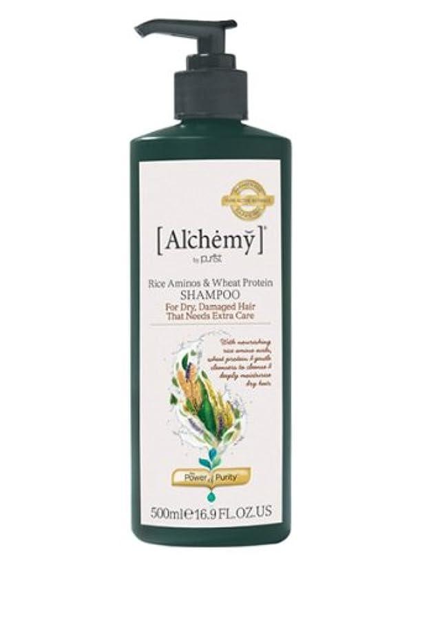 二年生くつろぎ漏斗【Al'chemy(alchemy)】アルケミー ライス アミノス モイスチャーシャンプー(Rice Aminos-Intensive Moisture Shampoo)(ドライ髪用)500ml