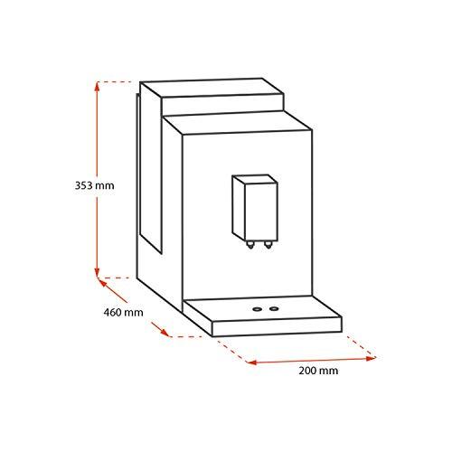 31p cM8xvBL. SS500  - Melitta Automatic Espresso Machine, Purista Model, F230-102, Black, 6766034