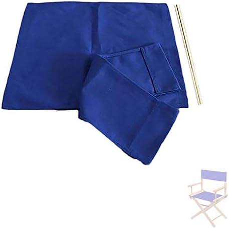 1 Set Bestuur stoelen Alternatief doek Oxford doek Seat Stool Toevallige achterblad 1 en 2Flat Stick blauw