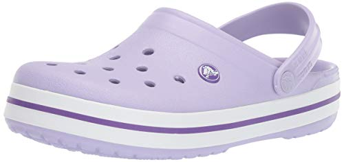 Crocs Crocband Clog, Lavender/Purple, 5 US Men/ 7 US Women M US
