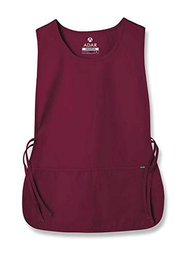Adar Uniforms Adar Universal Schürze - Unisex Schürze - Burgundy - Regular