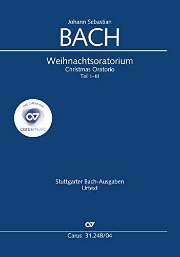 Weihnachtsoratorium (Klavierauszug deutsch): Kantaten I-III BWV 248, 1734 (?)