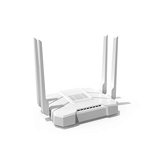 Wiflyer WE1326-BKC 1200Mbps Wireless Router, 4G LTE Router with SIM Card Slot, TF Card, USB Port, Support T-Mobile AT&T(Not Support Verizon)