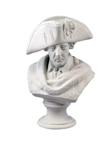 Kämmer Porzellanfigur Büste Friedrich II.