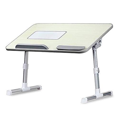 HERVI Es klappt Laptop Ständer Computertisch,Verstellbare Faltbare Bettablage, zum Schreiben im Sofaboden für Kinder und Erwachsene