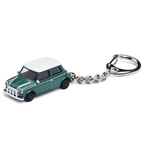 corpus delicti :: Sleutelhanger met modelauto voor alle autofans en oldtimerfans (Mini Cooper British Racing Green)