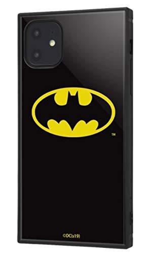 iPhone 11 ケース, カバー バットマン 耐衝撃 ストラップ ホール付き ハイブリッドケース KAKU バットマンロゴ IQ-WP21K3TB/BM001
