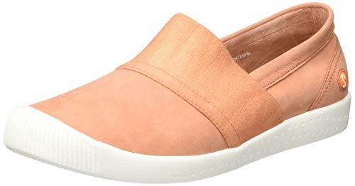 Softinos Damen INO497SOF Slipper, Pink (Warm Pink 011), 42 EU