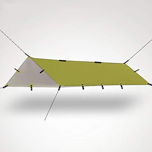 AIHOUSE Lona para Acampar, Ultraligera Multiusos para Refugio Solar, para Acampar Al Aire Libre, Picnic, Playa