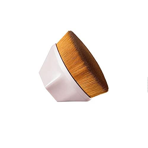 Pinceaux Maquillage De Base Cosmétique, Doux Brosse à Poils Forme De Pétale Beauté Maquillage Brosse Avec étui De Rangement Adaptée Aux Cosmétiques Liquides Ou En Poudre Mélangés à La Crème (rose)