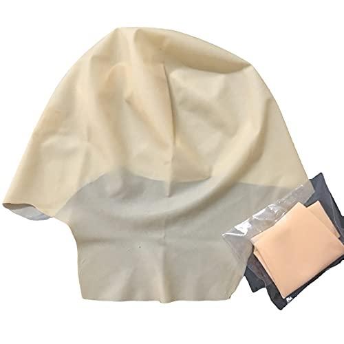 Gorra de cabeza calva de ltex para hombres mujeres maquillaje cabeza calva realizar accesorios para fiesta temtica