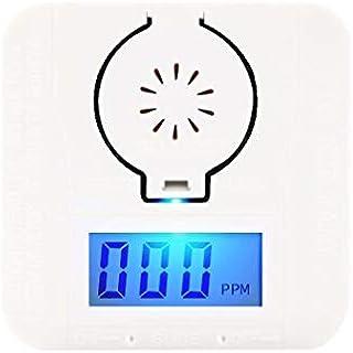一酸化炭素 警報機 COアラーム COセンサーモニター COのガスセンサーの検出器 一酸化炭素中毒防止 85DB 目覚まし時計の警告 低電力表示 LED数字表示 高感度感知 超長時間スタンバイ 取付簡単 キャンプ 冷 房 暖炉 リビング 寝室 ...