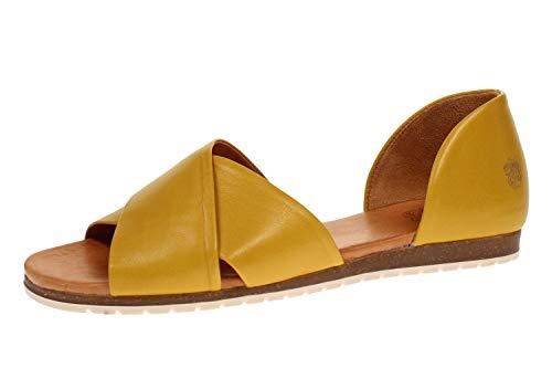 Apple of Eden SS20-CHIUSI 23 - Damen Schuhe offene Schuhe - Yellow, Größe:40 EU