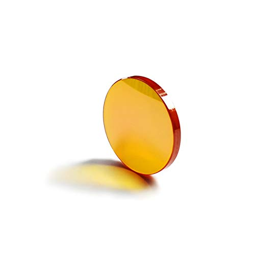 "CNCOLETECH 25mm Znse Focus Lens for 10.6um Co2 Laser Engraving Cutting Engraver 40W-150W (Dia:25mm, FL:1"" / 25.4mm)"
