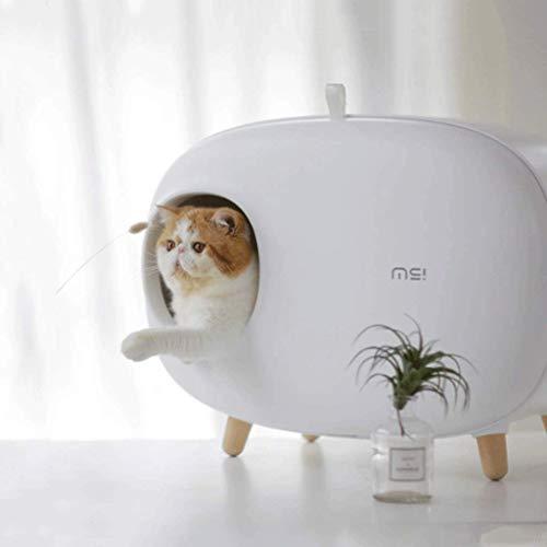 Zelfreinigende Kattenbak Herbruikbare Deodorant Splash-Proof Kattenbak Kattenbak Gesloten Groot, Kattenbak, Cat House, Kattenbak