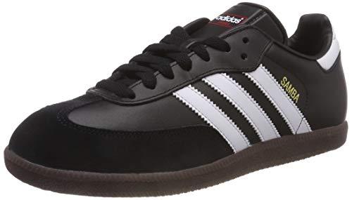 adidas Samba, 019000, Unisex-Erwachsene Low-Top Sneaker,Schwarz (black 1/white/gum5),44