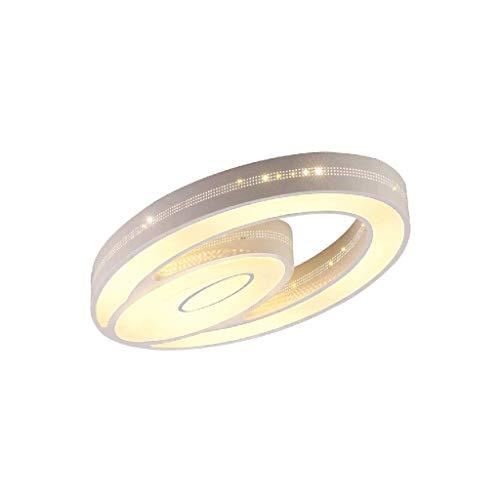 LIANGANAN Techo Oval lámpara- Inteligente Ajustable de Techo de luz LED, Obligatorio, Ajustable en Color, Accesorio Adecuado for la Cocina, Pasillo, baño, Escalera zhuang94