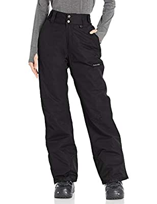 Arctix Women's Insulated Snow Pants, Black, Large/Regular