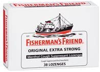 100% quality warranty Fisherman's Friend Extra Strong Mail order Suppressant Lozeng Menthol Cough