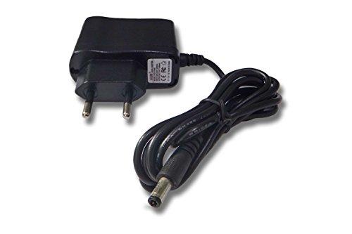 vhbw 220V Netzteil 3W (7.5V/0.4A) für V-Tech Kikmagic 2, Mobigo 2, Storio 2, blau, pink, Cars, Junior, Storio 3, 3 Junior, V-Smile Pocket Konsole.