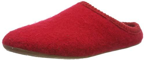 Haflinger Everest Classic Pantoffeln Unisex-Erwachsene, Rot (Ziegelrot 285), 38 EU