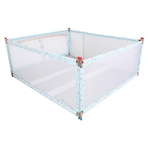 Zhao Baby-Schutzzaun, Schlafzimmer Anti-Fall-Multifunktionsbett-Wohnzimmer-Zaun-Innenaufstiegs-vertikales Aufzug-Bett-Geländer, 1.5-2M (Farbe : D, größe : 150 * 190CM)