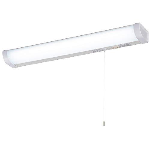 オーム電機 LED流し元灯 20形 昼光色 引きひもスイッチ 配線工事必要 LT-NKL14D-HC 06-4022 OHM