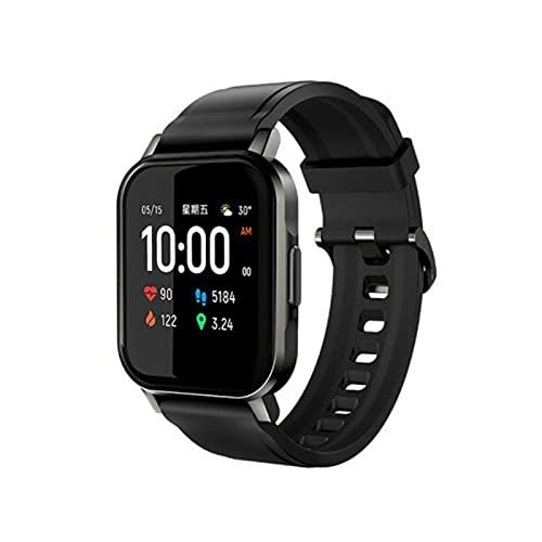 BYE CHOW Smart Watch 3,5 cm Full Touch Screen Fitness Tracker, GPS Orologio da corsa, Sleep Tracing Pedometro Sport Orologi per uomini e donne Impermeabile Cardiofrequenzimetro Fitness Watch (nero)