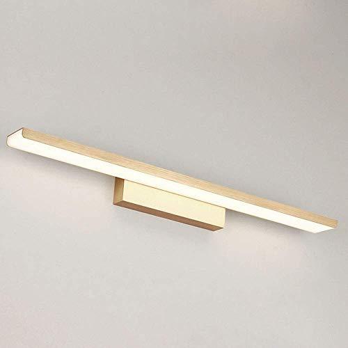 NBVCX Home Decoration 24in / 32W Golden Modern Vanity Light Down LED-Spiegel Frontleuchte für Badezimmer Beauty Makeup Wandleuchten |Schlafzimmer Spiegel Wandleuchte Lampen (Farbe: Weiß Lihgt)
