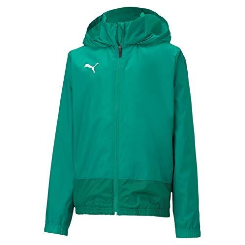 PUMA Kinder teamGOAL 23 Training Rain Jacket Trainingsjacke, Pepper Green-Power Green, 164