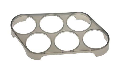 6er Eierhalter 18321 (16x8,5x2,5cm) Universell für den Kühlschrank