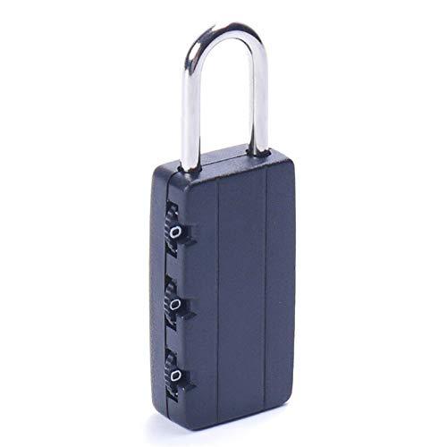 ZAOPP Combinación De Seguridad Negro Cerraduras Viaje del Equipaje del Bolso del Candado Gimnasio Locker Lock Maleta Maleta Equipaje Contraseña Código De Bloqueo del Candado