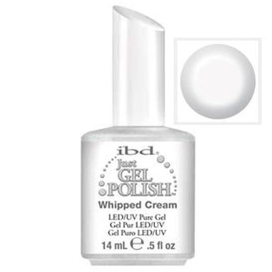 抑圧者早い退院ibd Just Gel Polish-Whipped Cream(ソークオフジェル) [海外直送品][並行輸入品]
