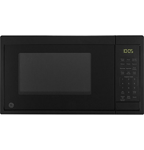 GE Appliances JES1095DMBB GE 0.9 Cu. Ft. Capacity Countertop Microwave Oven, Black
