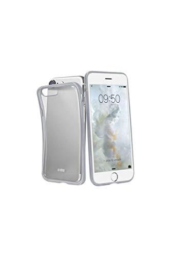 Sbs - Carcasa cover extraslim plata para iphone 7