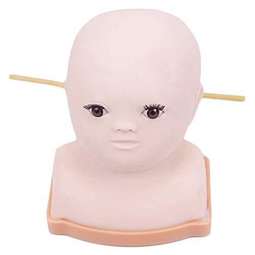 LXX maniquí Profesional para Entrenamiento de Cabeza de bebé - Kit de...