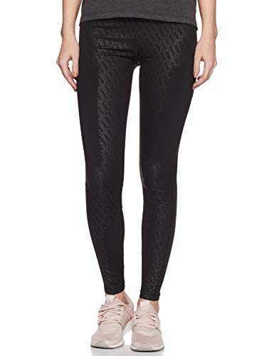 Puma Bold Graphic FullTight Legging Femme, Black-Emboss, L
