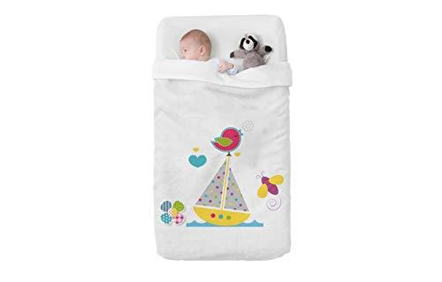 Manterol Babydecke mit hochwertigen Reliefapplikationen Art Baby Happy 716 C15 cm 110x140