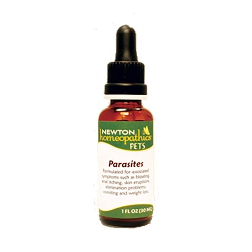 Newton Homeopathics Parasites for Dogs and Cats
