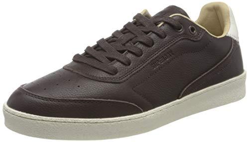 Superdry Herren Sleek Trainer Sneaker, Dark Brown, 42 EU